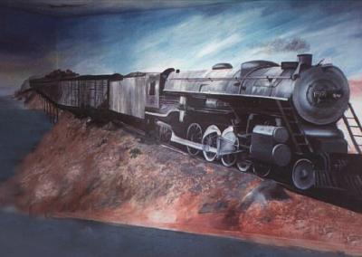 """Mural 16' x 8"""""""