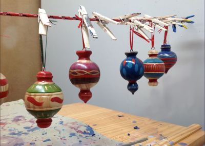 Ornaments in Studio