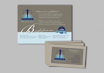Business Cards & Post Card