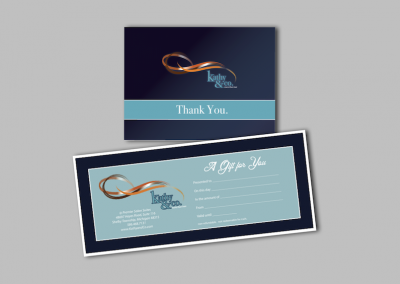 Thank You & Gift Certificate